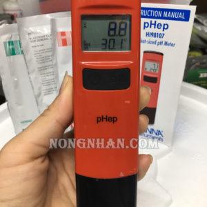 Máy đo pH nước tưới cây HI98107